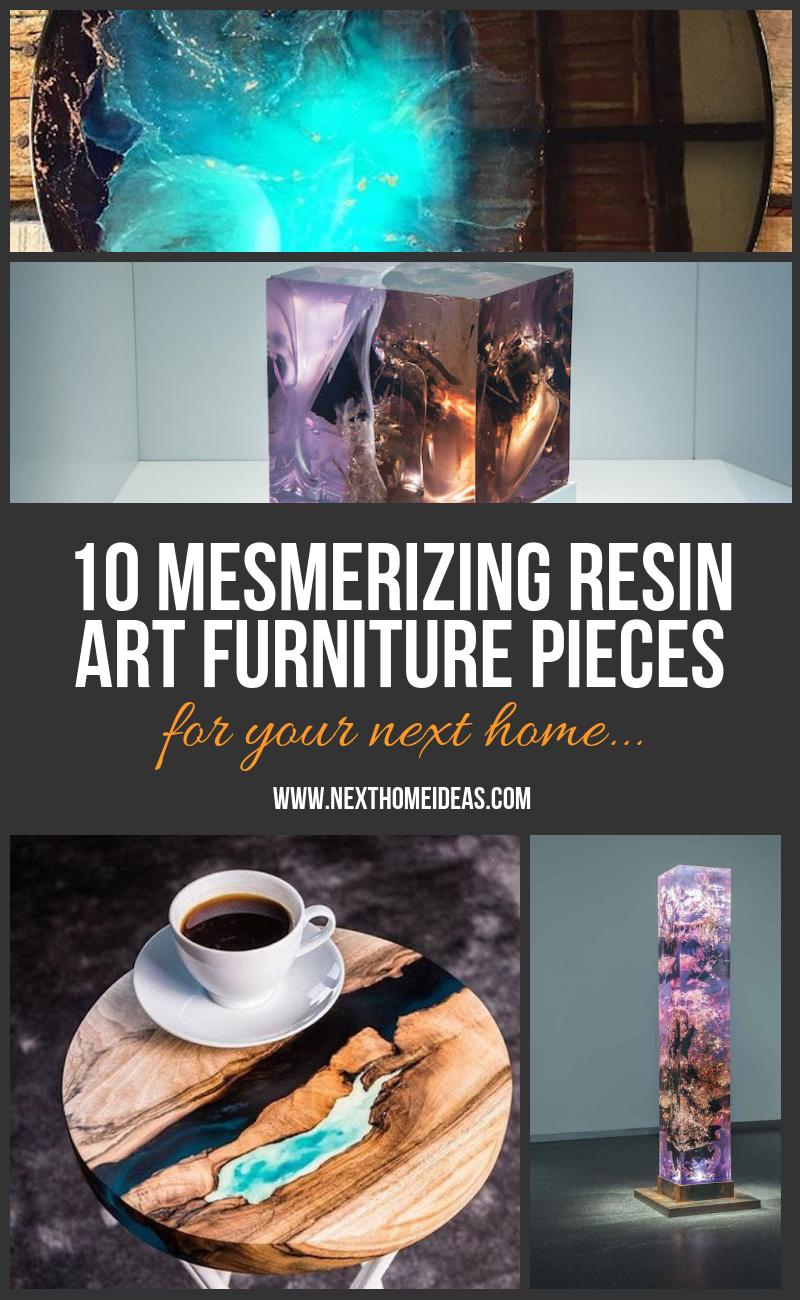 10 MESMERIZING RESIN ART FURNITURE PIECES