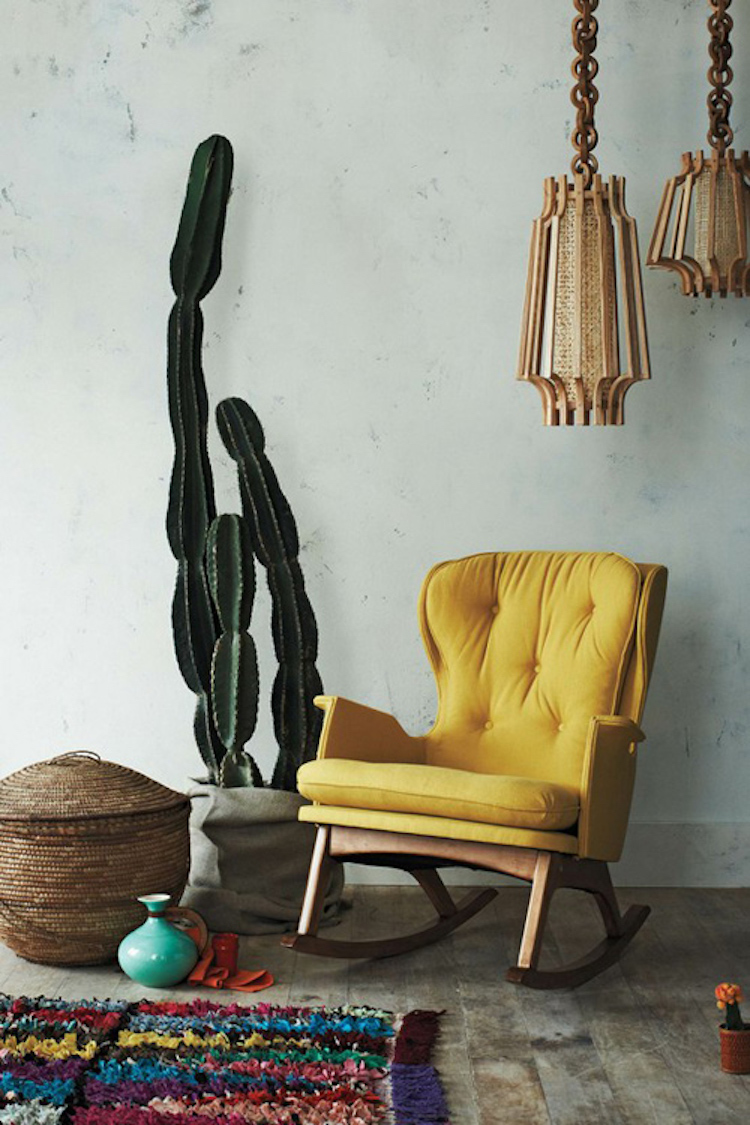Mustard yellow couch idea 10