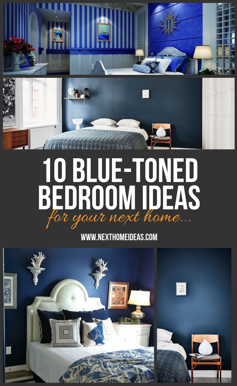 blue-toned bedroom ideas for your next home