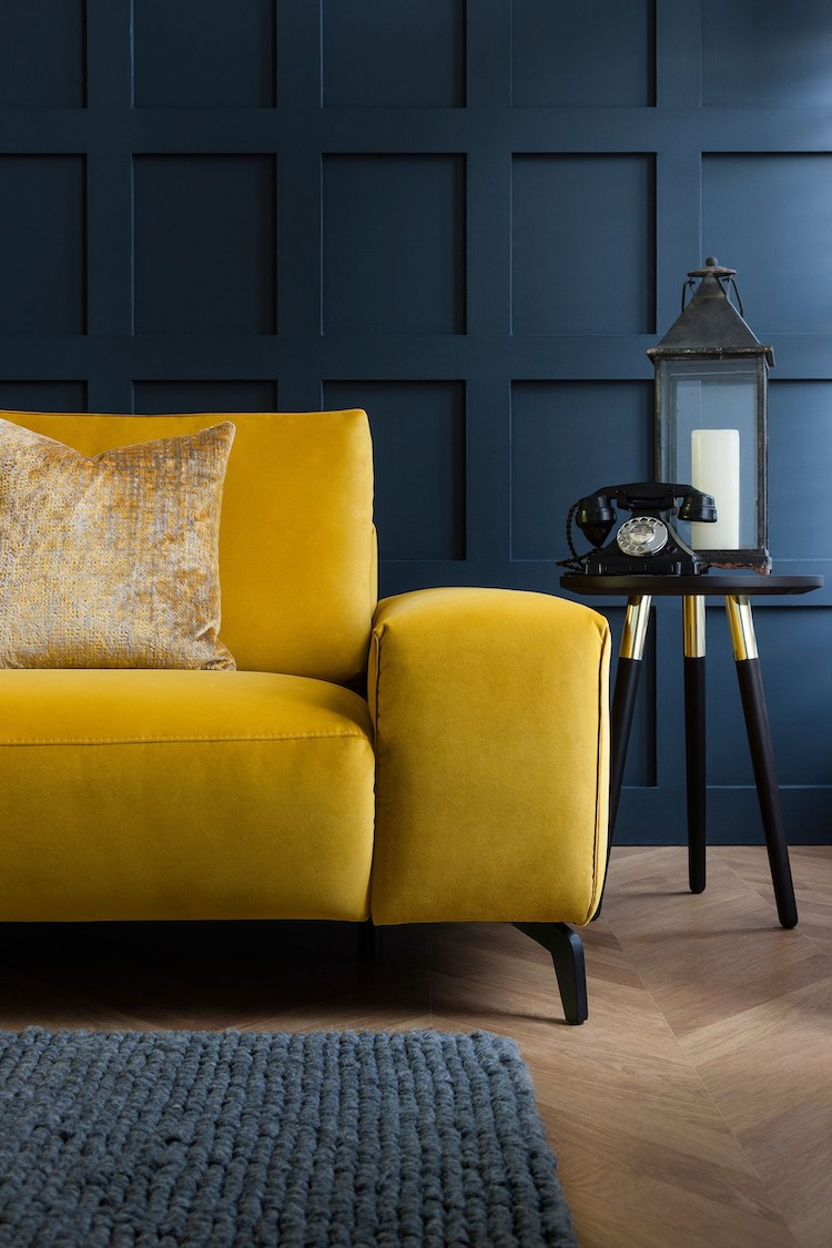 Mustard yellow couch idea 09