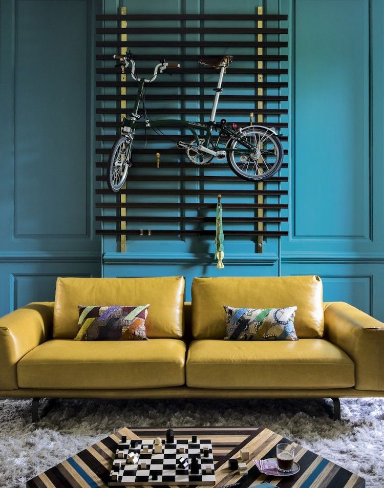 Mustard yellow couch idea 07