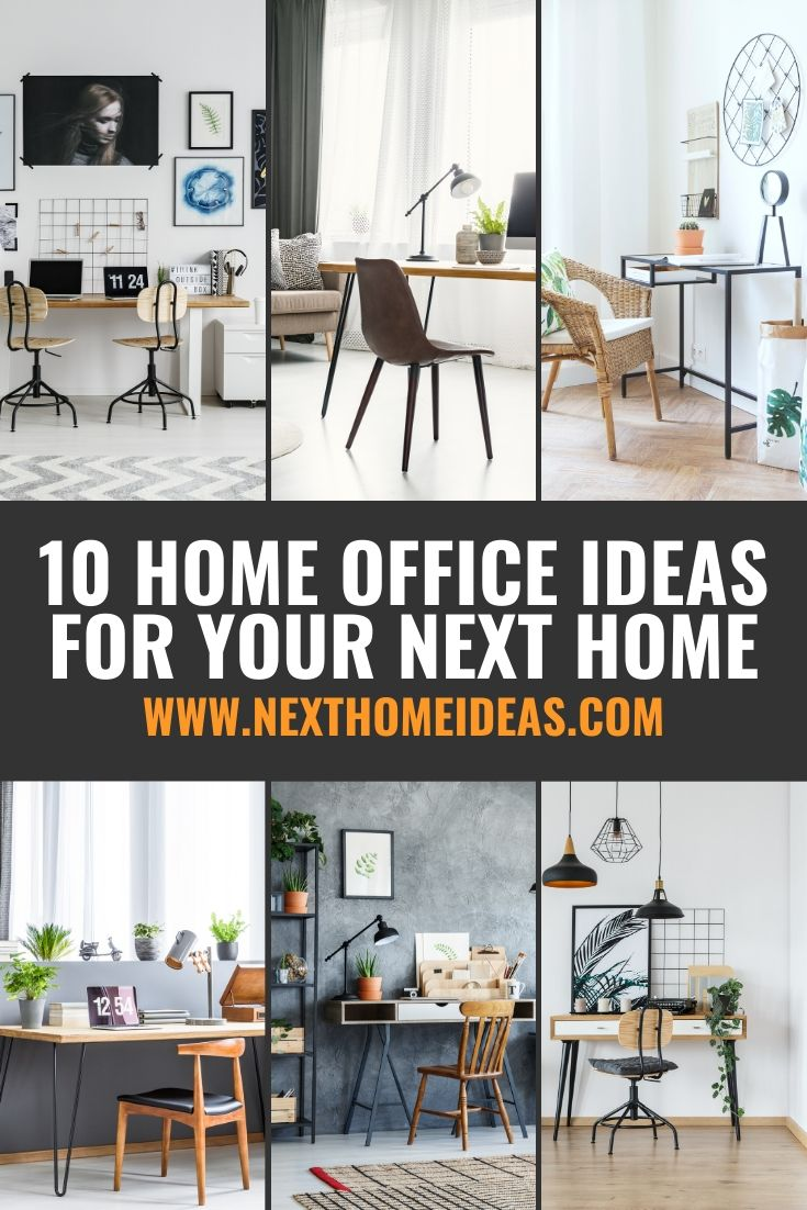 10 Home Office Ideas For Your Next Home